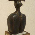 Femme casquée - Hubert de SAINT HUBERT