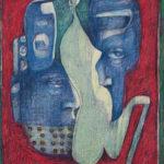 IMG_1601 Mozaik Mask VIII - Marie-Denise DOUYON