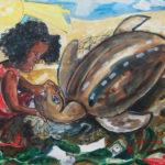 IMG_1624 Petite fille et la tortue - John LIE A FO